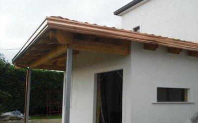Ampliamento in legno ad Alife loc. San Michele -CE7