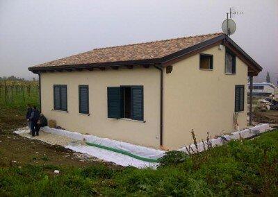 Maison en bois – Ponte Italie