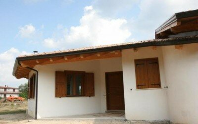 Casa in legno Baia e Latina -CE17