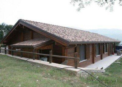 Maison en Bois – Capriati al Volturno Italie