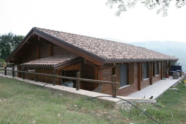 Casa in legno – Capriati al Volturno -CE