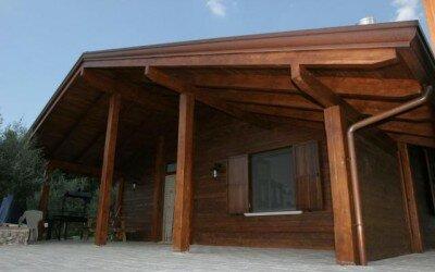 Casa in legno Capriati al Volturno -CE7