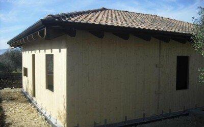 Casa in legno Monteroduni -IS- da 160 mq2