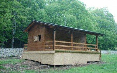 Chalet in legno per Disabili Bocca della selva -CE1