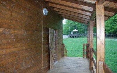 Chalet in legno per Disabili Bocca della selva -CE10