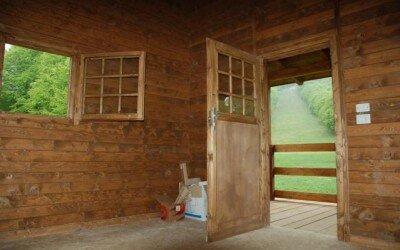 Chalet in legno per Disabili Bocca della selva -CE11