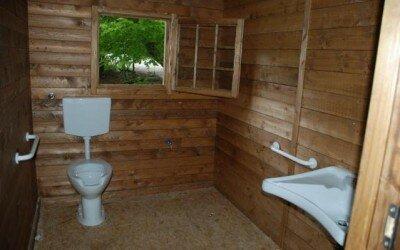 Chalet in legno per Disabili Bocca della selva -CE12