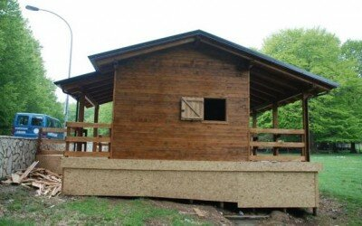 Chalet in legno per Disabili Bocca della selva -CE7