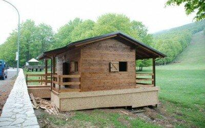 Chalet in legno per Disabili Bocca della selva -CE9