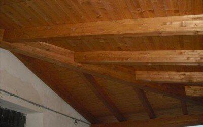 Mansarda in legno Baia e Latina -CE3
