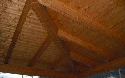 Mansarda in legno Baia e Latina -CE4
