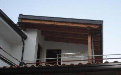 Mansarda in legno Baia e Latina -CE5