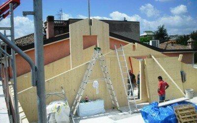 Ristrutturazione con struttura in legno centro storico a Piedimonte Matese1