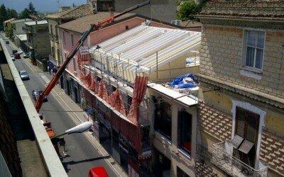 Ristrutturazione con struttura in legno centro storico a Piedimonte Matese3