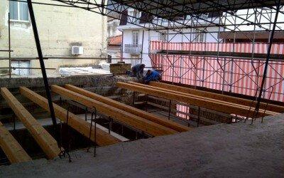 Ristrutturazione con struttura in legno centro storico a Piedimonte Matese5