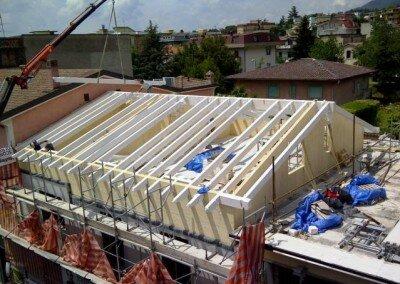 Restructuration dans le centre historique de Piedimonte Matese Italie