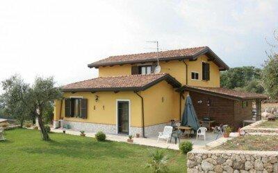 Villa in legno San Potito Sannitico 2 CE8