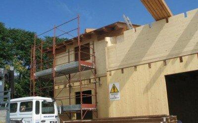 casa in legno San Potito Sannitico CE3