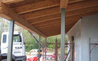 casa in legno San Potito Sannitico CE30