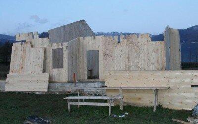 villetta in legno ad Alife CE-25
