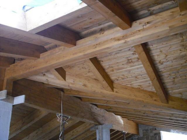 Toit en bois – Pignataro Maggiore