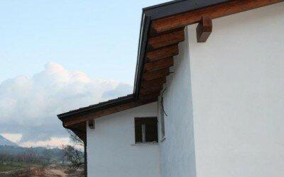 Copertura in legno San Potito Sannitico -CE2