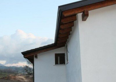 Toit en bois – San Potito Sannitico Italie