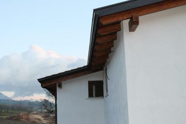 Tetto in legno – San Potito Sannitico -CE