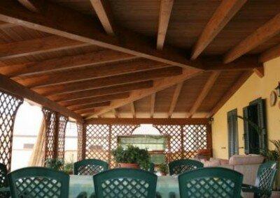 Porche en Alife Italie