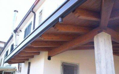 Porticato in legno - Alvignano -CE6