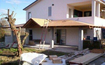 Porticato in legno - Alvignano -CE8