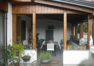 Veranda di 30 mq – Abitazione privata a Piedimonte Matese (CE)